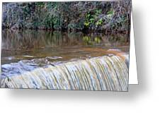 Cramond Waterfall Greeting Card