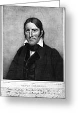 Davy Crockett (1786-1836) Greeting Card by Granger