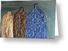 Decor Vases Greeting Card