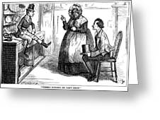 Dickens: Martin Chuzzlewit Greeting Card