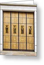 Doors Greeting Card