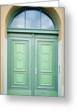Doorway Greeting Card