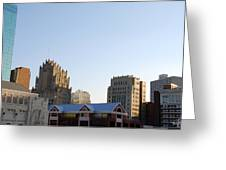 Downtown Fort Worth Greeting Card