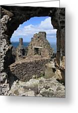 Dunluce Castle Northern Ireland Greeting Card