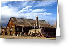 4 Eagle Ranch Greeting Card