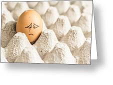 Eggs Have Feelings Too Greeting Card