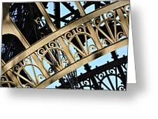 Eiffel Tower Detail Greeting Card