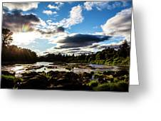 Elkton River Greeting Card
