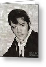 Elvis Presley, Legend  Greeting Card
