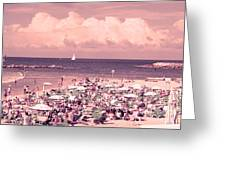 Gordon Beach, Tel Aviv, Israel Greeting Card