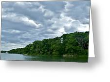 Green's Hill And The Bass River Greeting Card