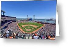 Home Of The San Francisco Giants Greeting Card