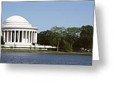 Jefferson Memorial, Washington Dc Greeting Card