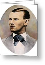 Jesse James, 1847-1882 Greeting Card