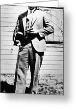 John Dillinger 1903-1934 Greeting Card by Granger