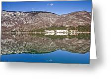 Lake Bohinj Greeting Card