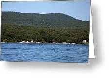 Lake George New York Greeting Card