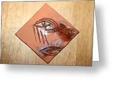 Loss - Tile Greeting Card