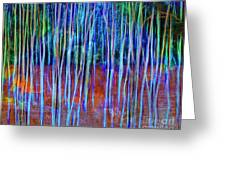 Magic Of The Aspens Greeting Card
