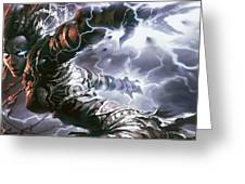 Magic The Gathering Greeting Card