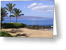 Makena, Secret Beach Greeting Card