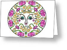 Lotus Princess Greeting Card