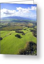 Maui Aerial Greeting Card