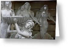 4 Mermaids Greeting Card