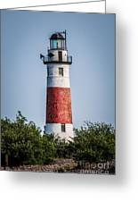 Middle Island Lighthouse Greeting Card