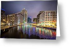 Milwaukee Wisconcin City And Street Scenes Greeting Card