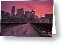 Minneapolis Skyline Greeting Card