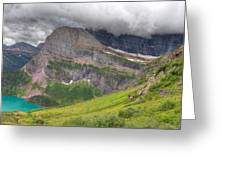 Montana-glacier National Park-grinnell Glacier Trail Greeting Card