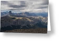 Mount Black Rock Greeting Card