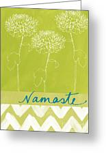Namaste Greeting Card