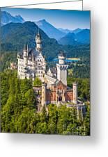Neuschwanstein Fairytale Castle Greeting Card