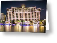 November 2017 Las Vegas Nevada - Scenes Around Bellagio Resort H Greeting Card