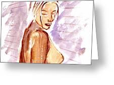 Nude Greeting Card