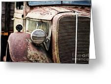 Old Farm Ford - Pov 1 Greeting Card