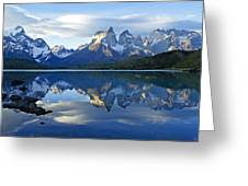 Patagonia Reflection Greeting Card