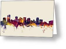 Phoenix Arizona Skyline Greeting Card