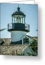 Point Pinos Lighthouse In Monterey California Greeting Card