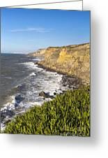 Portuguese Coast Greeting Card