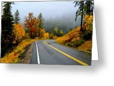 Poster Landscape Greeting Card