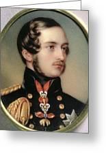 Prince Albert Henry Pierce Bone Greeting Card