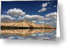Red Rock Reflections Greeting Card