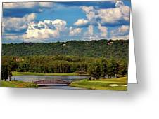 Ross Bridge Golf Course - Hoover Alabama Greeting Card