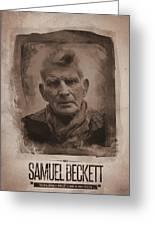 Samuel Beckett 02 Greeting Card