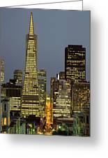 San Francisco Ca Greeting Card