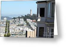 San Francisco Coit Tower Greeting Card