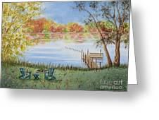 4 Seasons-autumn Greeting Card